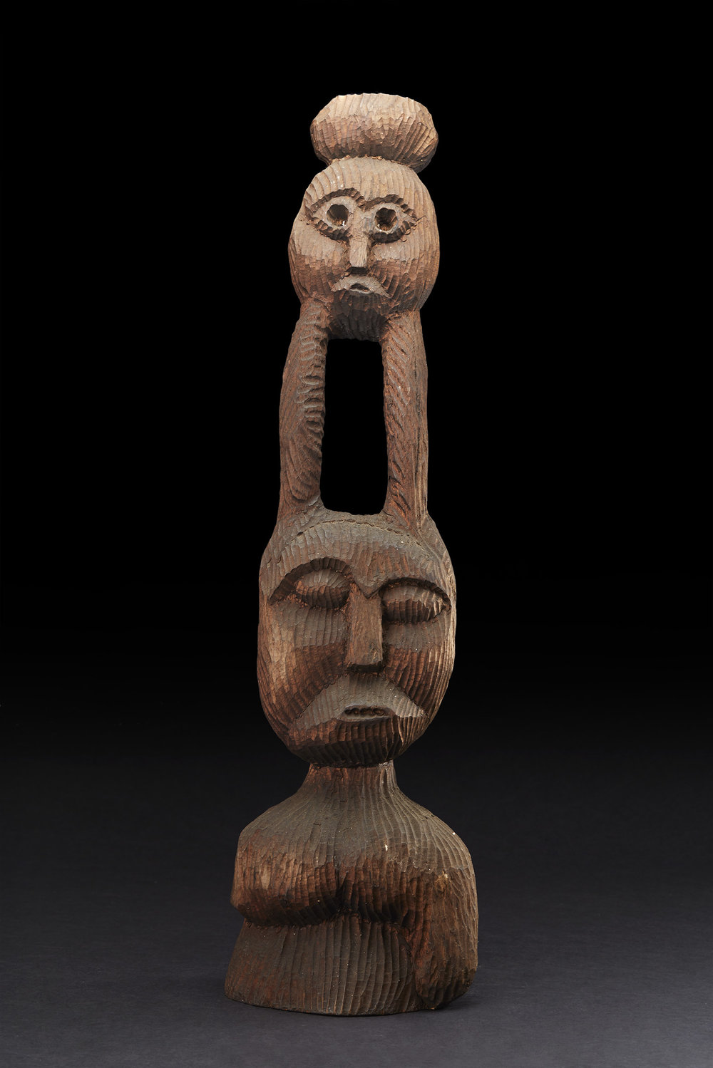Errol Lloyd Atherton  Untitled (Figure)  , 1992 Cedar 32.5 x 9 x 8 inches 82.6 x 22.9 x 20.3 cm LAt 29