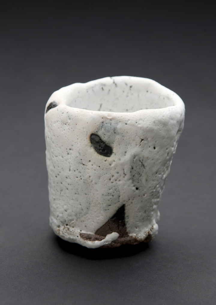 Robert Fornell  Tengu Guinomi  , 2012 Clay, Reduction fired to cone 8 7 x 5 x 6 inches 17.8 x 12.7 x 15.2 cm RFo 46