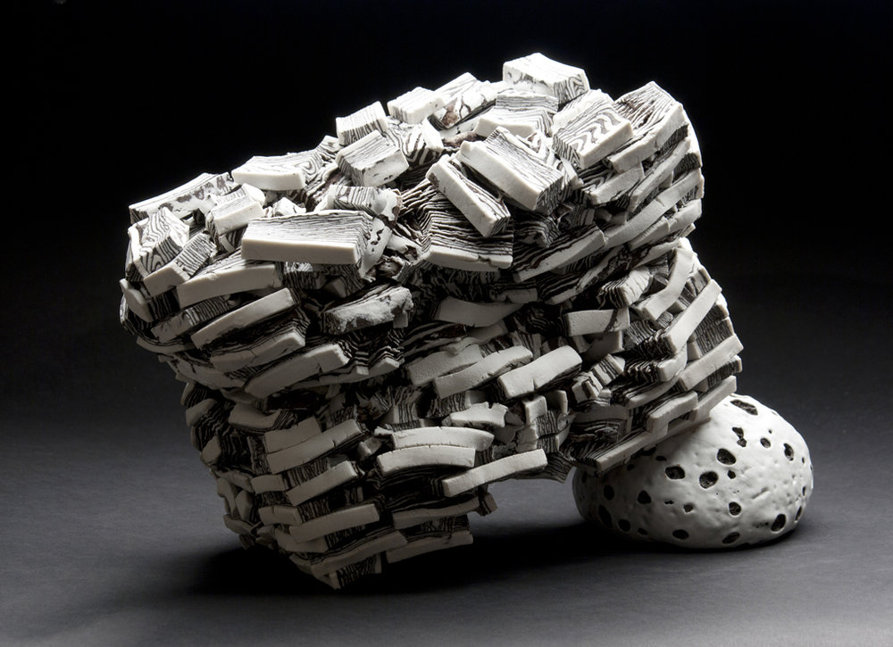Rafa Perez  Untitled  , 2011 Ceramic 9 x 12 x 6 inches 22.9 x 30.5 x 15.2 cm RPe 1