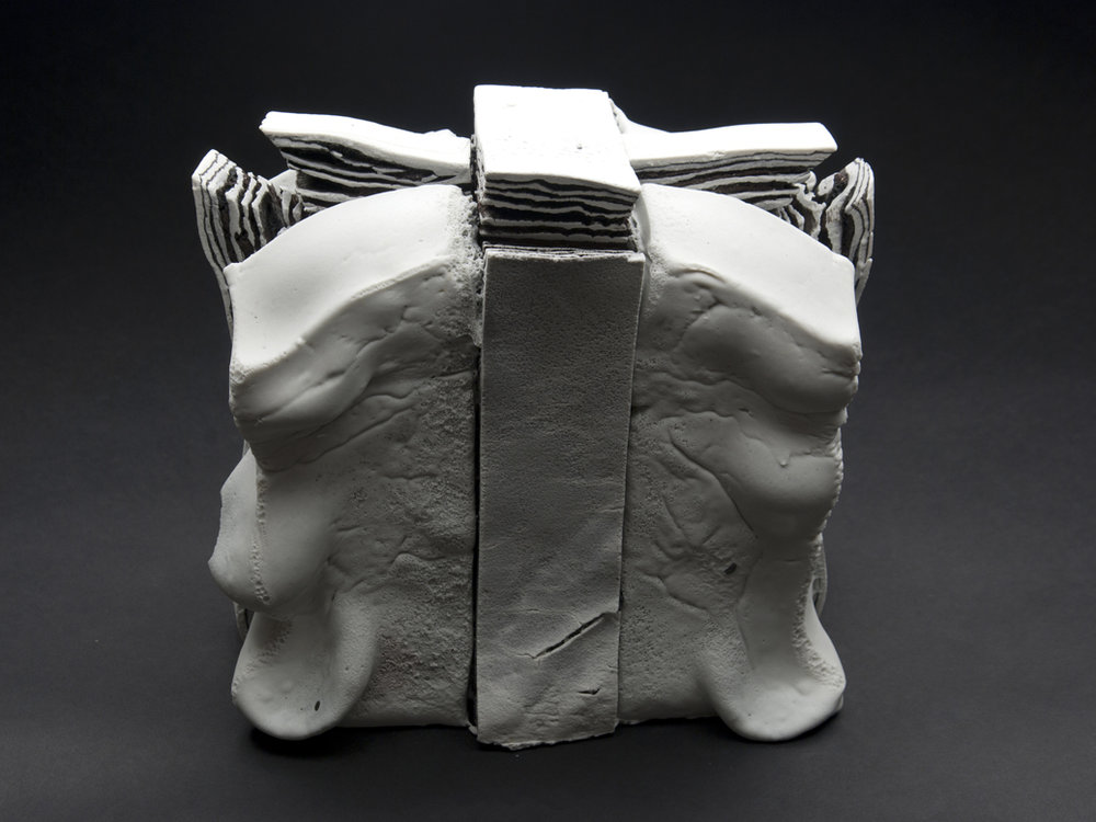 Rafa Perez  Untitled  , 2011 Ceramic 8 x 8.5 x 5 inches 20.3 x 21.6 x 12.7 cm RPe 3