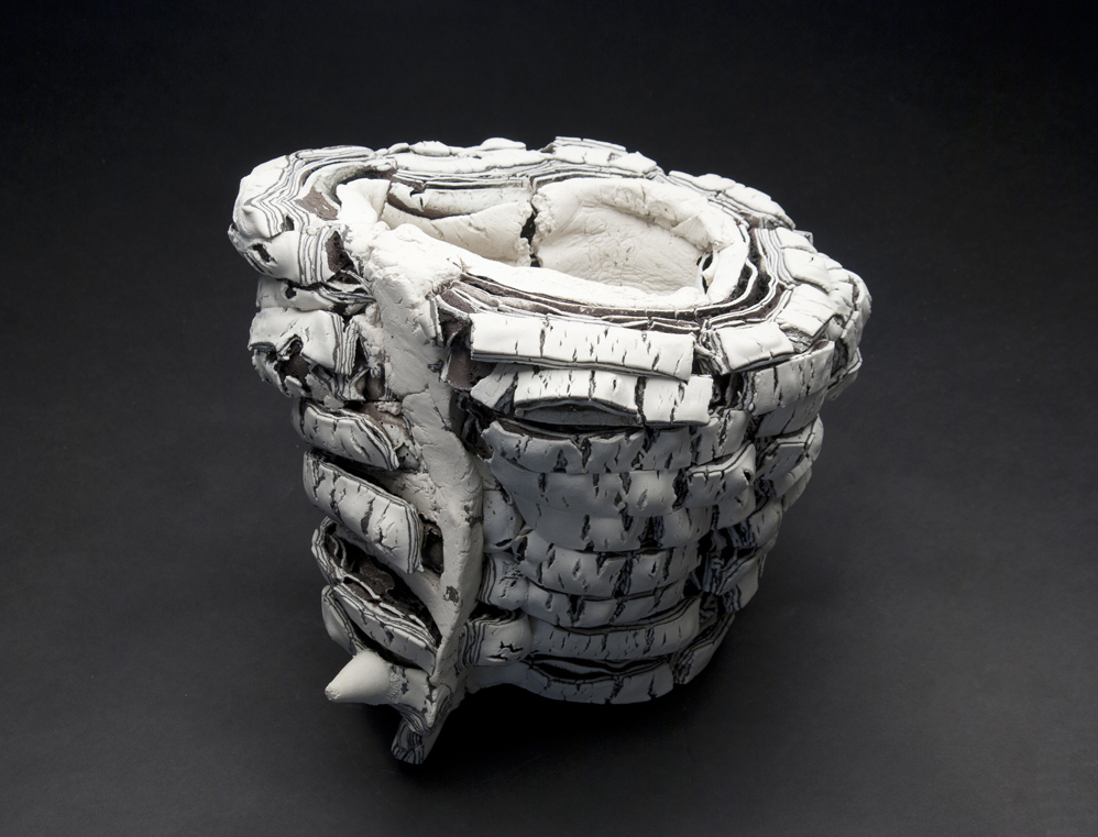 Rafa Perez  Untitled  , 2011 Ceramic 8 x 11.5 x 9.5 inches 20.3 x 29.2 x 24.1 cm RPe 4