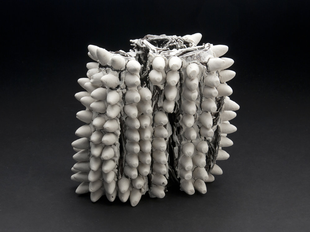 Rafa Perez  Untitled  , 2011 Ceramic 7.75 x 8 x 4.75 inches 19.7 x 20.3 x 12.1 cm RPe 6