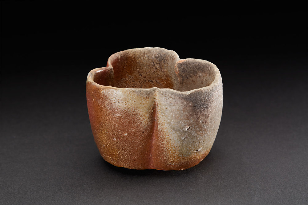 Tim Rowan  Untitled  , 2007 Woodfired Ceramic 3 x 4 x 3.5 inches 7.6 x 10.2 x 8.9 cm TR 48