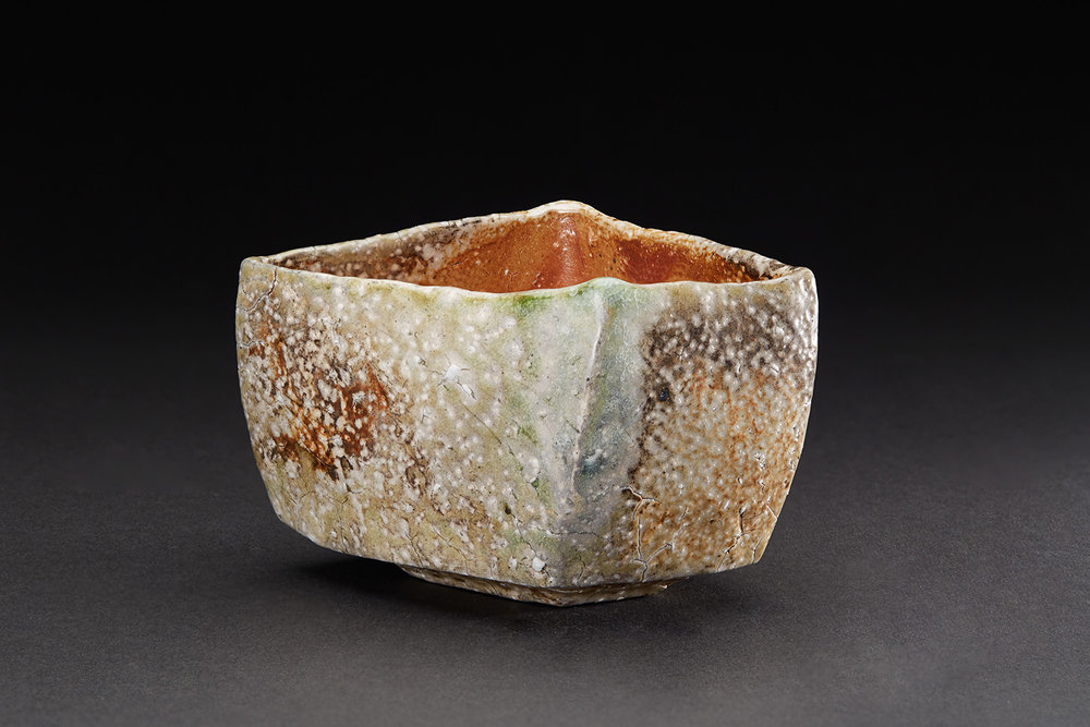 Tim Rowan  Untitled  , 2007 Woodfired Ceramic 3.5 x 3 x 3 inches 8.9 x 7.6 x 7.6 cm TR 50