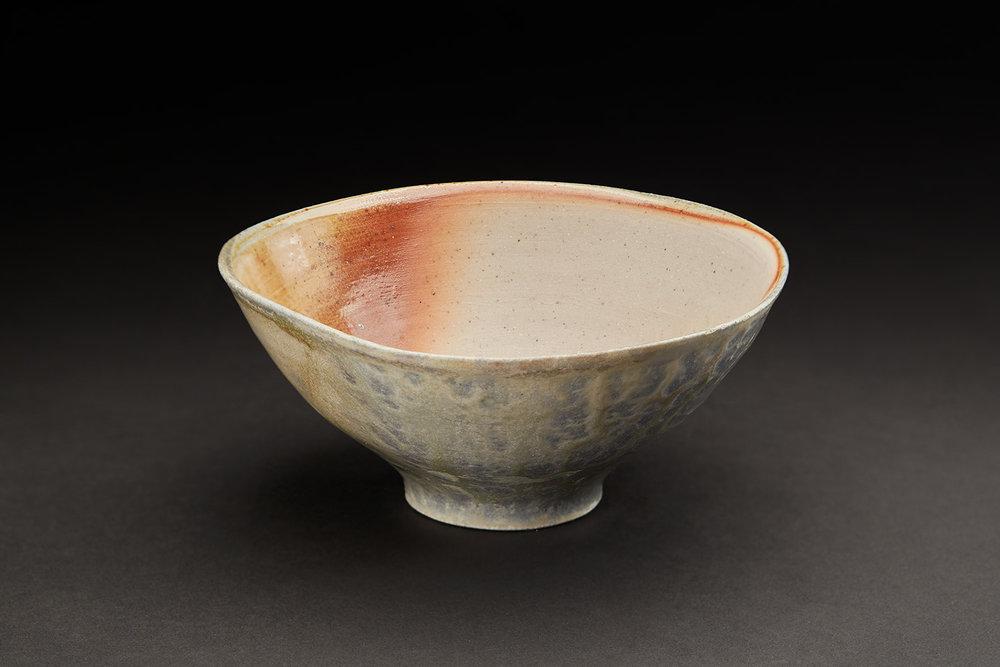 Shumpei Yamaki  Chawan  , 2018 Ceramic 2.25 x 5.25 x 5.25 inches 5.7 x 13.3 x 13.3 cm ShY 1