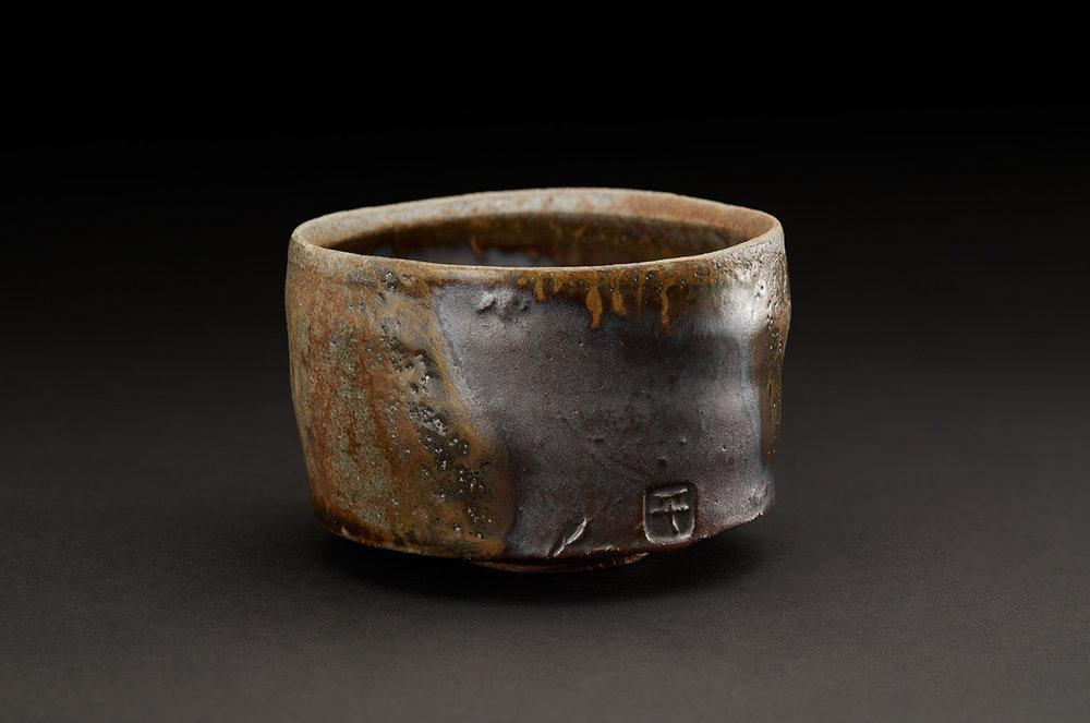 Shumpei Yamaki  Chawan  , 2018 Ceramic 3 x 4 x 4 inches 7.6 x 10.2 x 10.2 cm ShY 4
