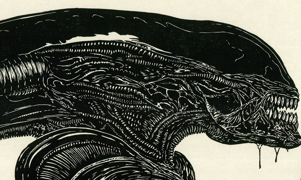 Jonesy_and_the_Xenomorph_24x48_2016_detail1.jpg