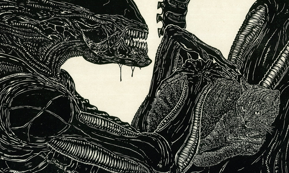 Jonesy_and_the_Xenomorph_24x48_2016_detail3.jpg
