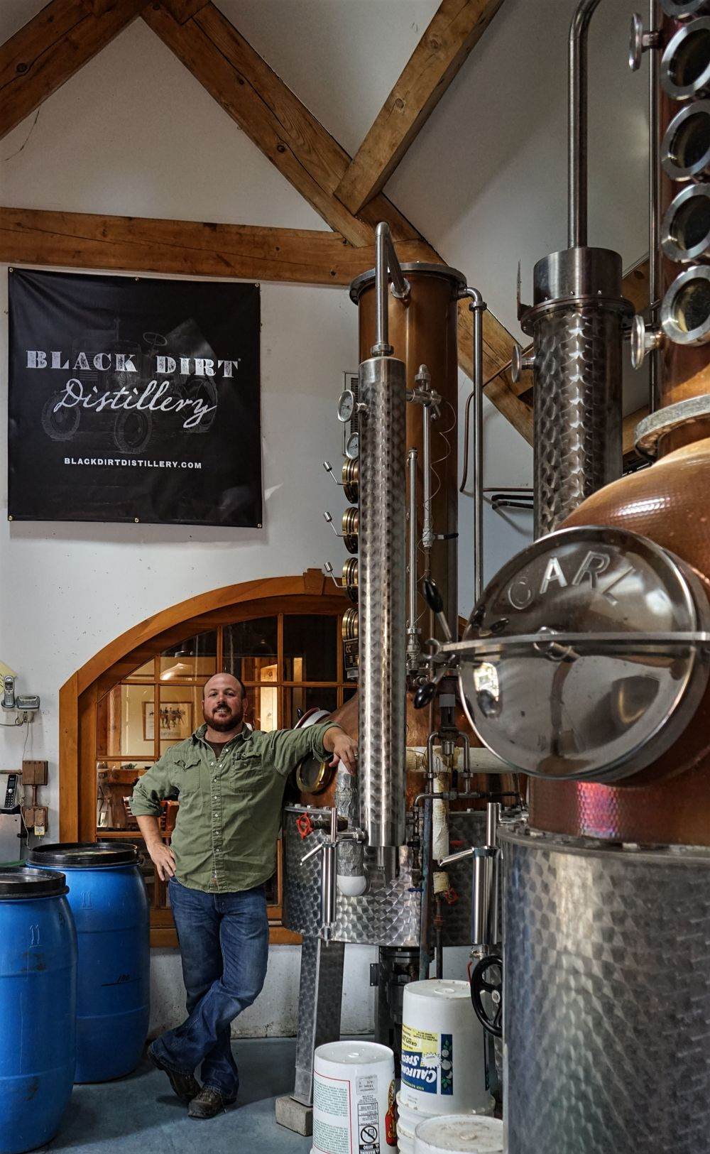 Jason Grizzanti one of the Distillery's spaces.
