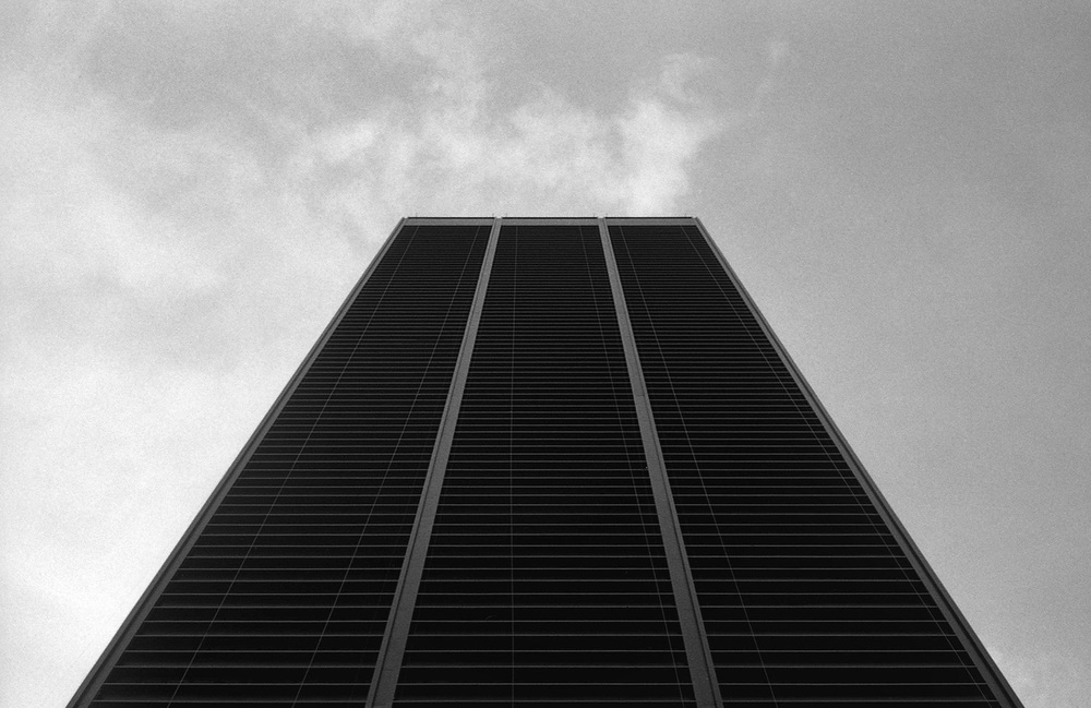 One liberty Plaza, NYC | Olympus 35 SP | Kodak Tri-X 400