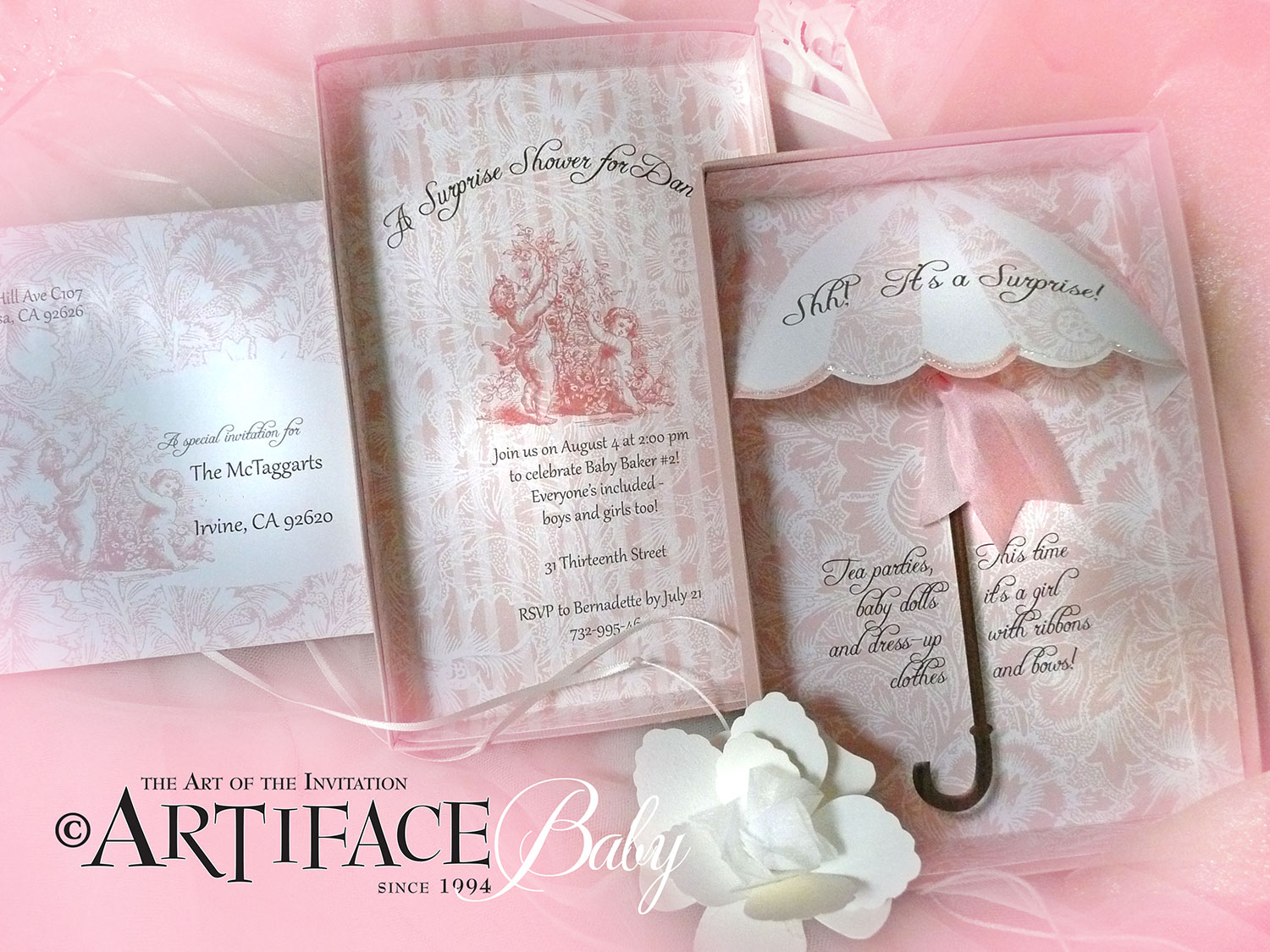 tangé design custom wedding invitations weddings birthdays baby