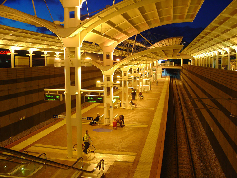Joondalup Train Station
