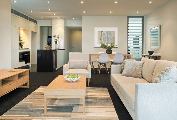 We can have your property furnished and ready for you when you arrive.