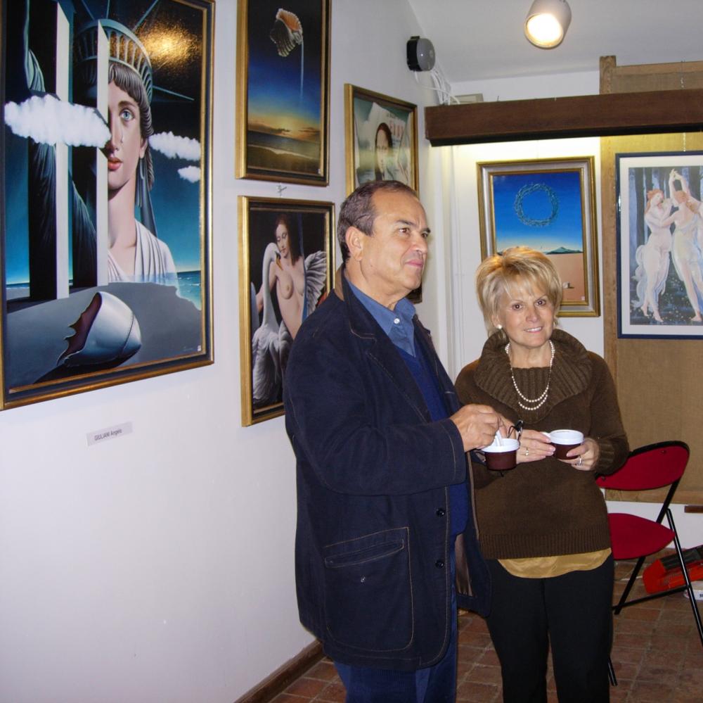 Professor Giuliani and his wife