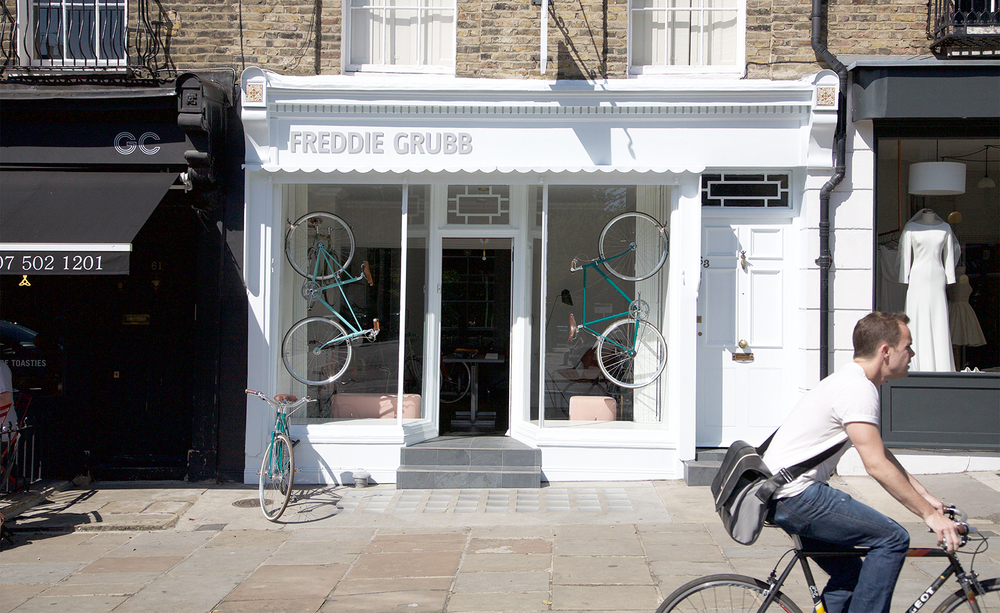 The Freddie Grubb Store, 63 Amwell Street, London.