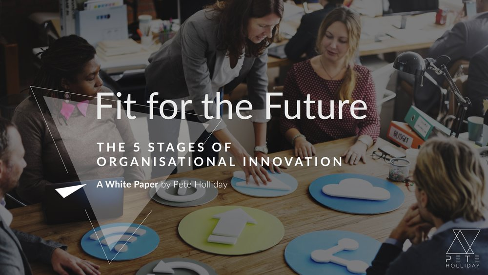 The 5 Stages of Organisational Innovation