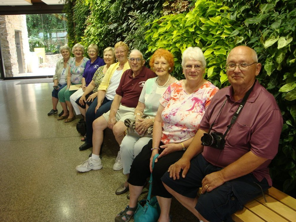 Summer outing to the Des Moines Botanical Center '14