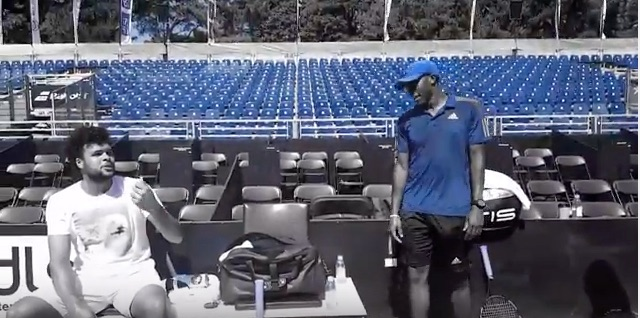 ATP Tour Development with Jo Tsonga - World top 10 ATP Tour player Jo-Wilfried Tsonga, professional coach Jesse Cooper, and player Myles Martin have an on-court conversation.