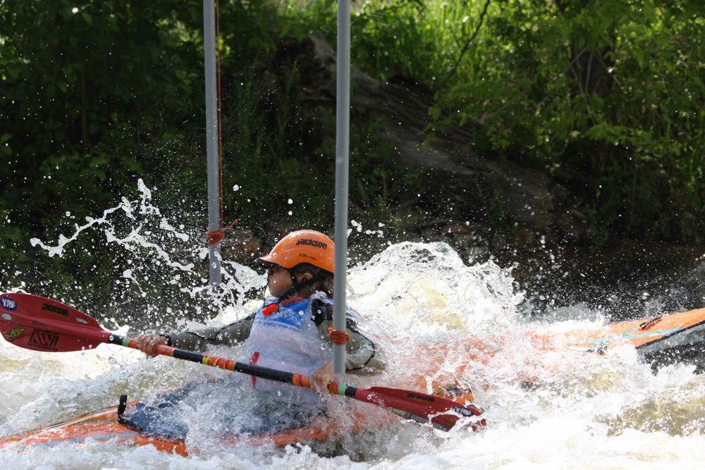slalom at Lyons