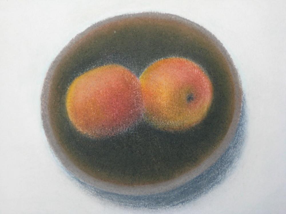 2 Apples in Grete's bowl