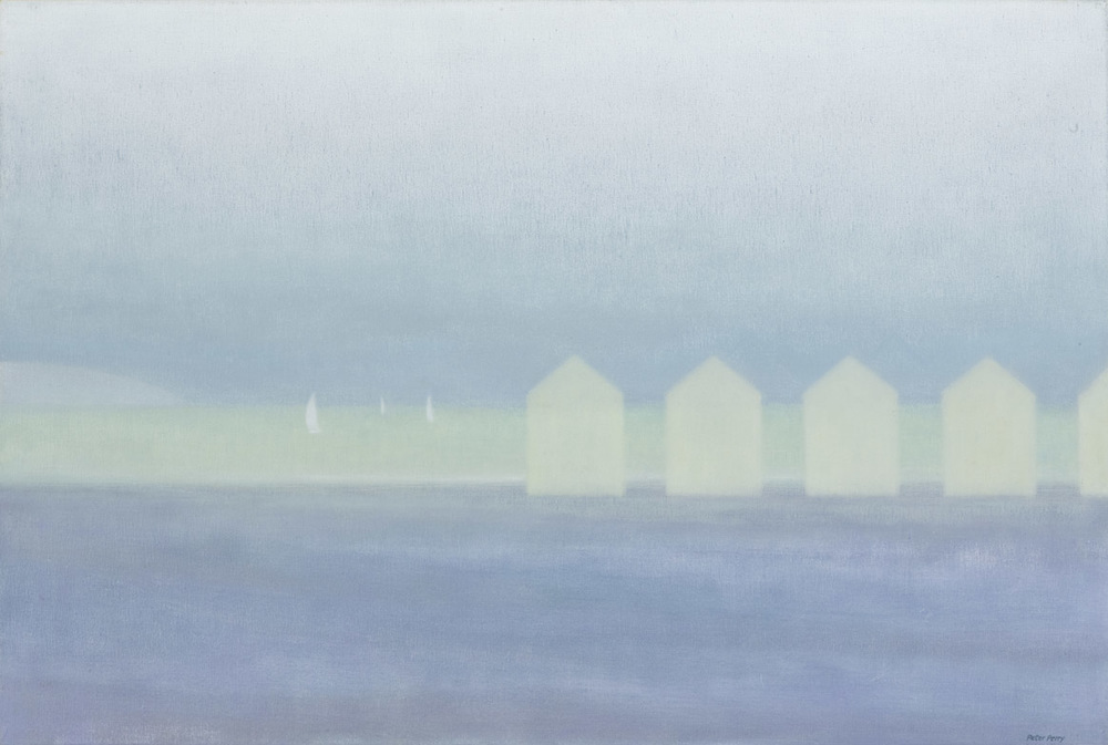 Beach huts, Picardy