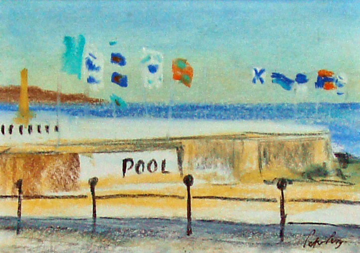 Penzance Pool, summer