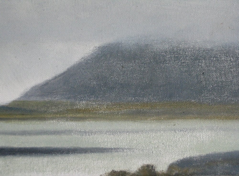 "WEST ICELAND 1  8X6"" (20X15cms)  Oil on canvas"