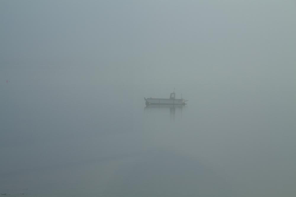 Loch Fyne in the mist