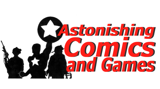 Astonishing Comics and Games