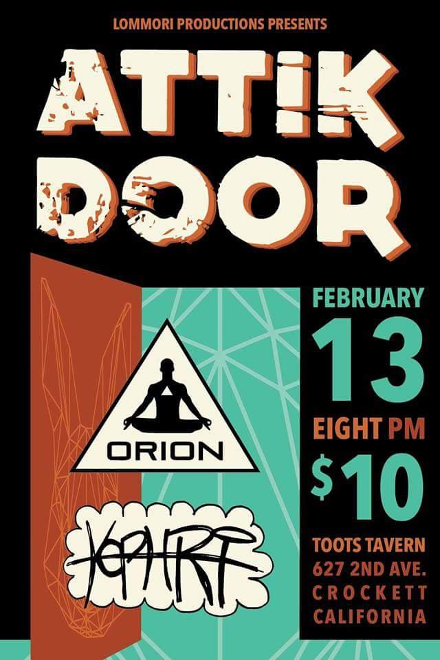 8pm 21+ $10  sc 1 st  Toot\u0027s Tavern & Attik Door... \u2014 Toot\u0027s Tavern