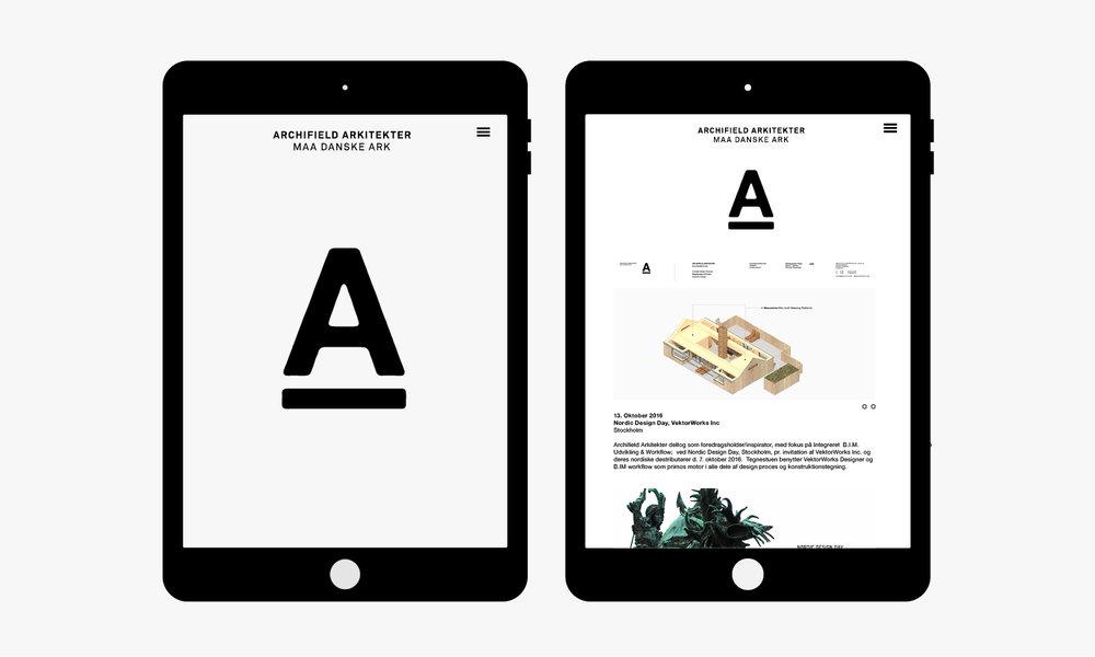 Identity & Design concept  A-ARK ARKITEKTER