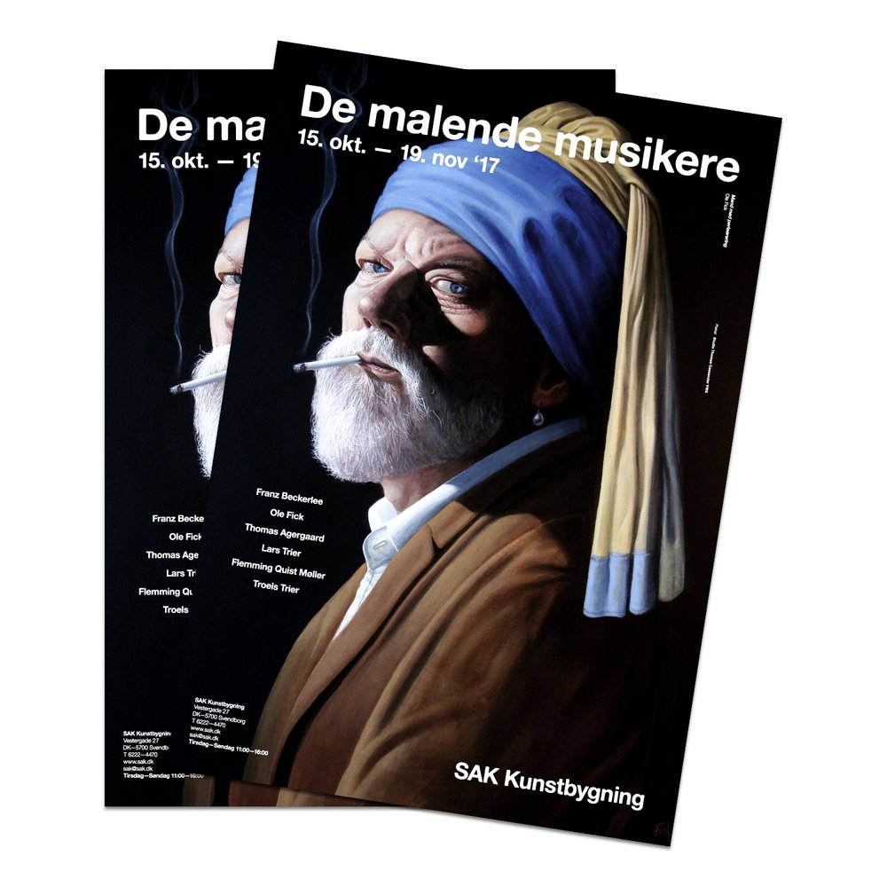 SAK Kunstbygning   De malende musikere  — '17 PR/Exhibition