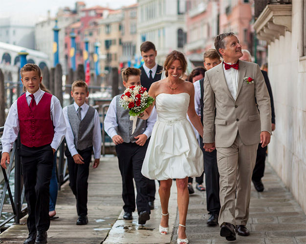 civil wedding at palazzo cavalli venice