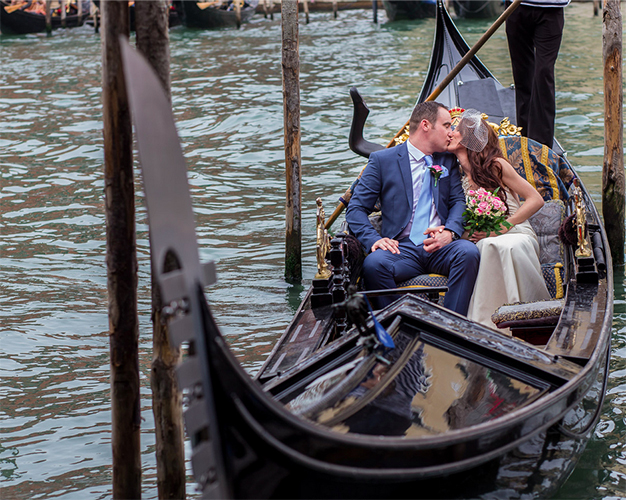 romantic gondola ride venice