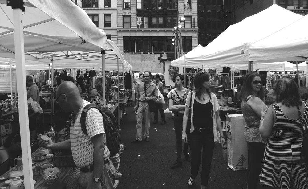 NYC Antique markets