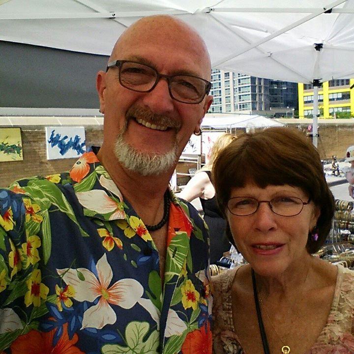 John and Marilyn Balzer at Hell's Kitchen Flea Market