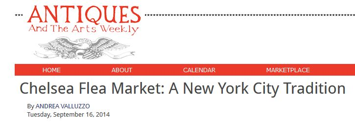Chelsea Flea Markets: A New York City Tradition --read more to discover what makes the Chelsea Flea Market an NYC essential market to visit, explore and shop