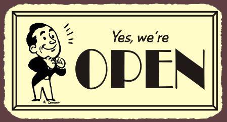 Yes, We're Open! — Annex Markets: Chelsea Flea Market