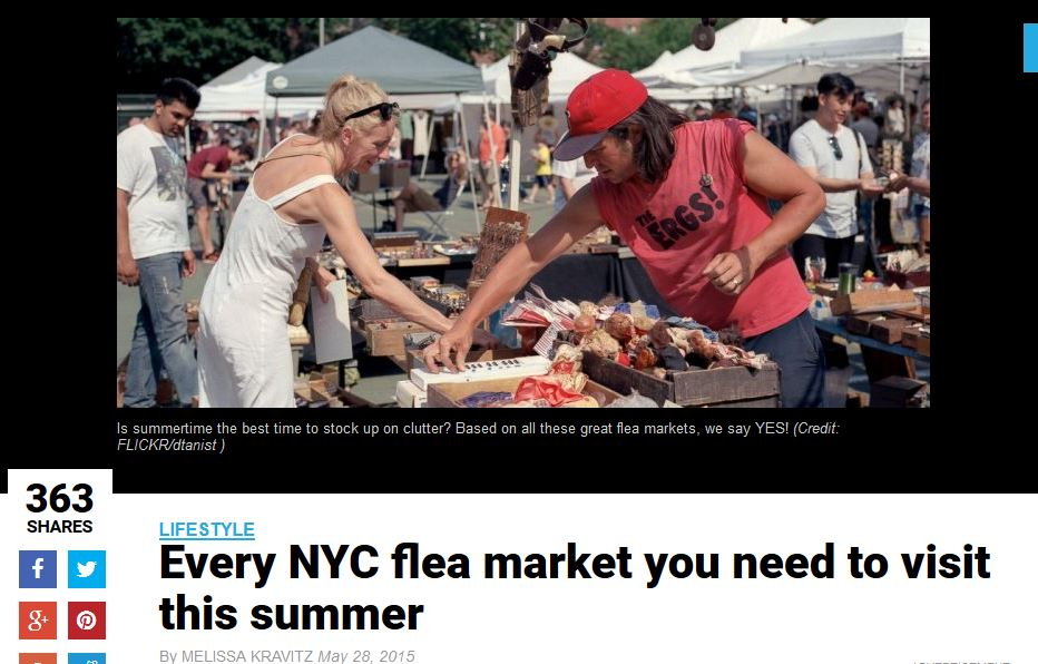 amNEWYORK: Every NYC flea market you need to visit this summer