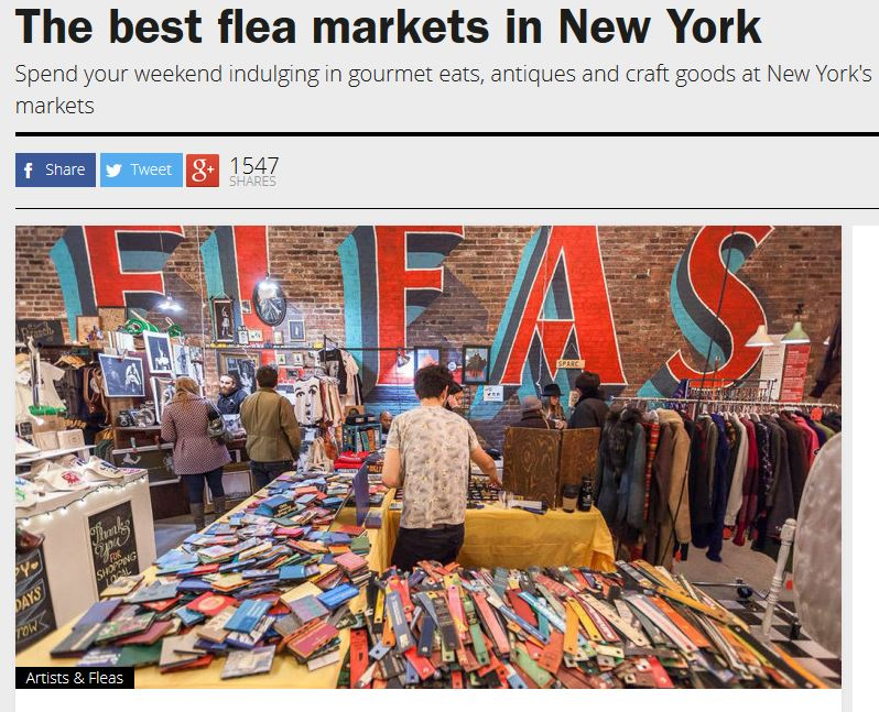 Time Out New York: The Best Flea Markets in New York