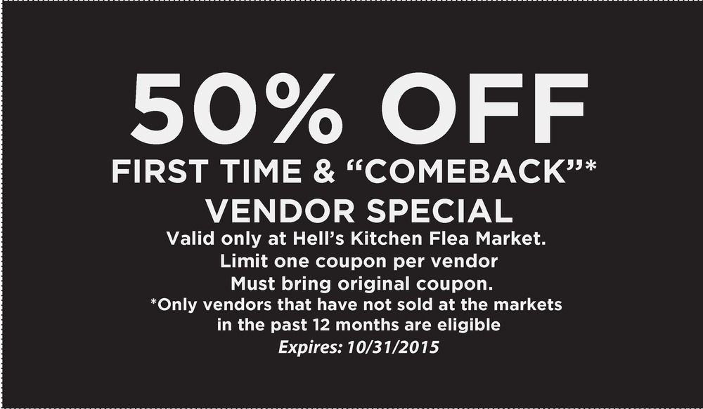 COUPON (above): Please print this coupon & bring with you to the market