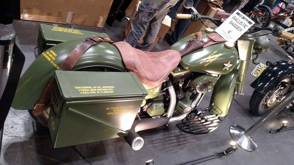 Ballistic Bagger --Army Green Motocycle -back right side.jpg