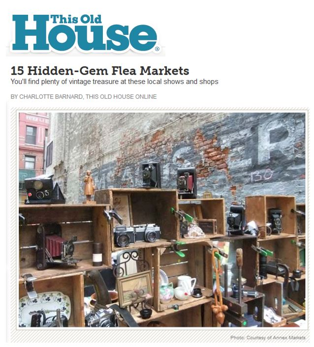 This Old House: 15 Hidden-Gem Flea Markets