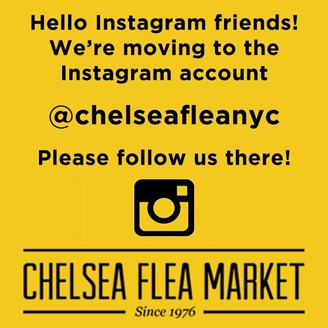 Please follow us at @chelseafleanyc! 👍🏻