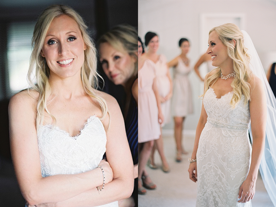 Natural Bride- Jen Featured on Cottage Hill Magazine.     Photo By: Anne Robert