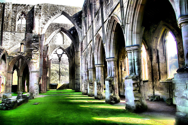 Tintern Abbey by Gordon Robertson