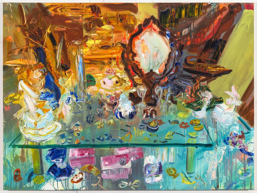 """Eons, 30""""x40"""", oil on panel, 2014"""