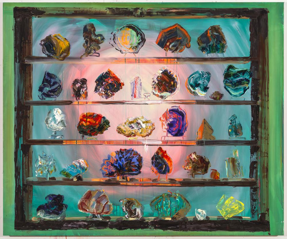 "Corporeality, 40""x48"", oil on panel, 2015"