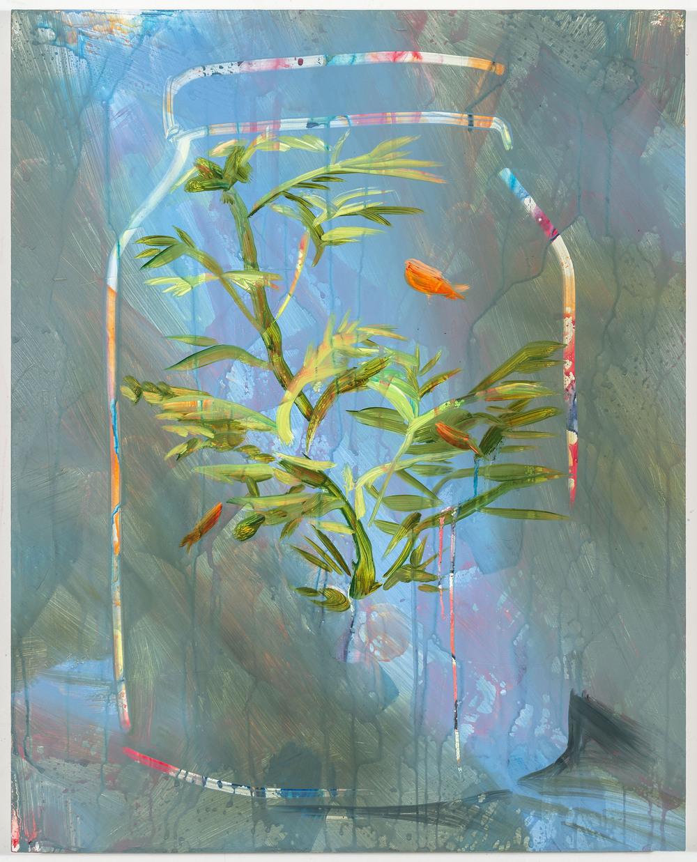 """Jar, 20""""x16"""", oil on panel, 2016"""