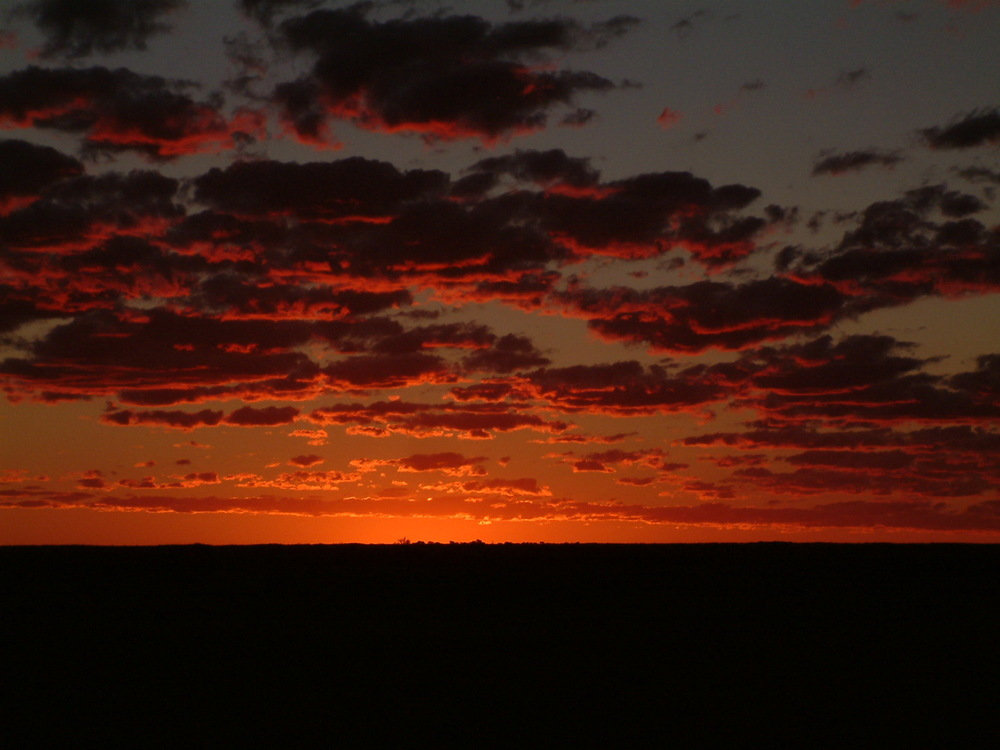 Broken Hill sunset.